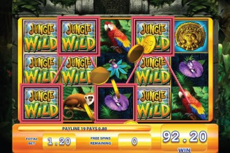 Jungle Wilds Slot Free Spins