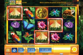 Jungle Wild Slot Scatters