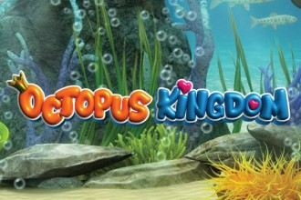 Octopus Kingdom Slot Logo
