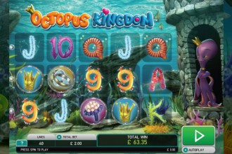 Octopus Kingdom Slot Reels