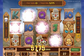 Pearls Of India Slot Free Spins Win
