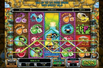 Potion Factory Slot Expanding Wilds