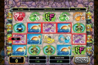 Potion Factory Slot Free Spins