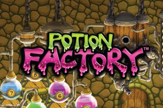Potion Factory Slot Logo