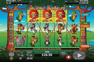 Super Safari Slot Wilds