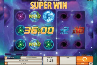 Supernova Slot Super Win