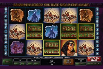 The Pyramid Of Ramesses Slot Free Games
