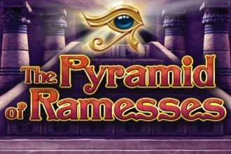 The Pyramid Of Ramesses Slot Logo