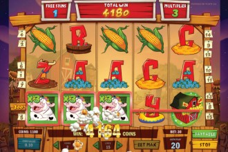 Crazy Cows Slot Free Spins