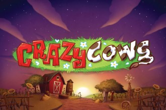 Crazy Cows Slot Logo