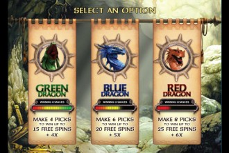 Dragon Slot Free Spins Selection