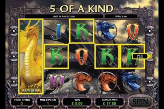 Dragon Slot Free Spins Win