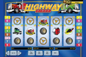 Highway Kings Slot Five of A Kind