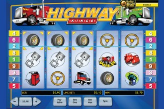 Highway Kings Slot Reels