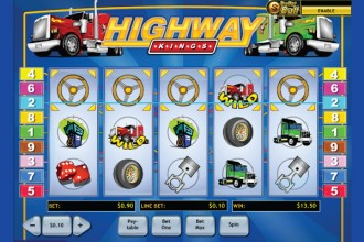 Highway Kings Slot Wild