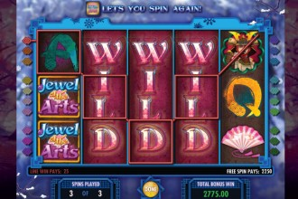 Jewel Of The Arts Slot Free Spins Wilds