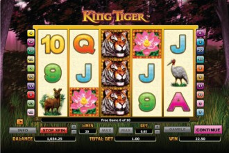 King Tiger Free Spins