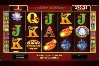 Lucky Zodiac Slot Free Spins