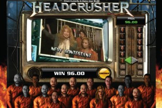 Megadeth Slot Headcrusher Bonus Game