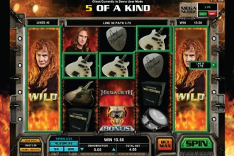 Megadeth Slot Expanding Wilds