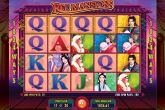 Red Mansions Slot Free Spins