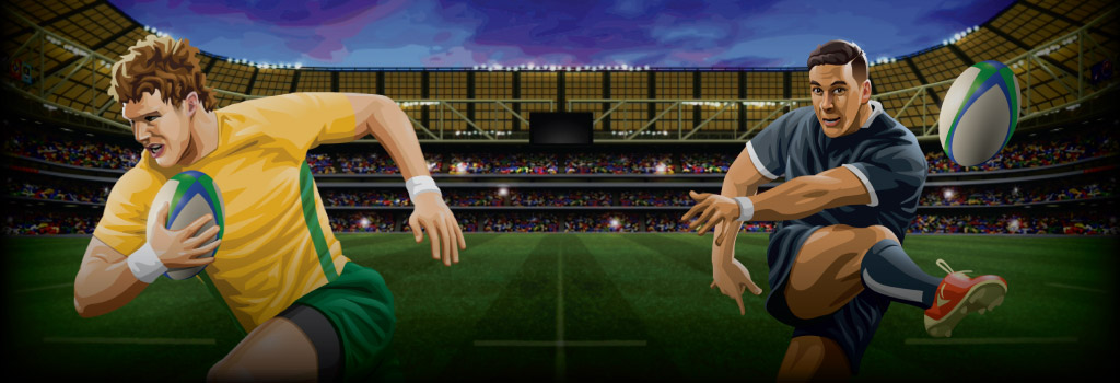 Rugby Star Background Image