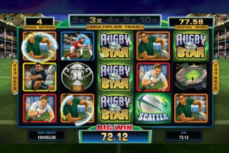 Rugby Star Slot Free Spins