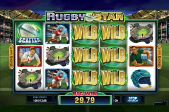 Rugby Star Slot Stacked Wilds