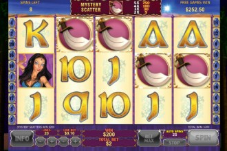 Sultans Gold Slot Free Spins