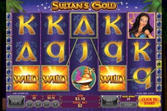 Sultans Gold Slot Wilds