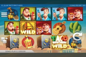 Taco Brothers Slot Reels