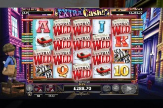Extra Cash Slot Free Spins Win