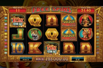 Golden Princess Slot Free Spins Round