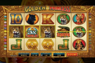 Golden Princess Slot Wilds