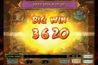 Happy Halloween Online Slot Big Win