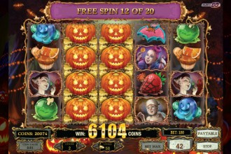 Happy Halloween Slot Free Spins