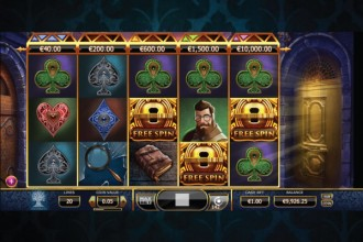 Holmes And The Stolen Stone Slot Bonus