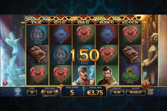 Holmes And The Stolen Stone Slot Free Spins