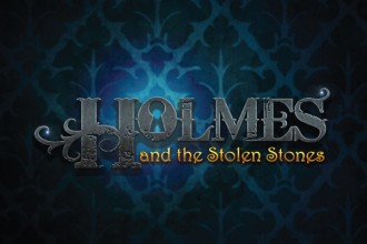 Holmes and the Stolen Stones Slot Logo