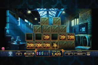 Holmes and the Stolen Stones Slot Bonus