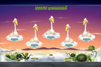 Jacks Beanstalk Slot Bonus Game