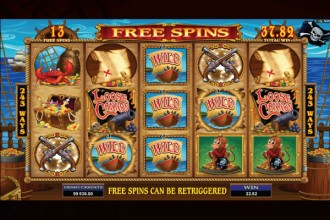 Loose Cannon Slot Free Spins