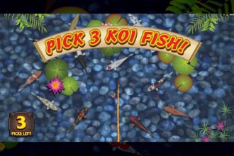 Lucky Koi Slot Pick Me Bonus Game