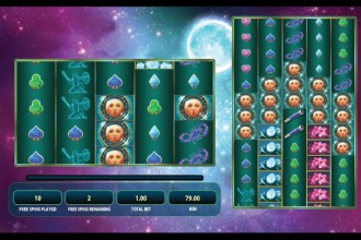 Lunaris Slot Free Spins Bonus Win