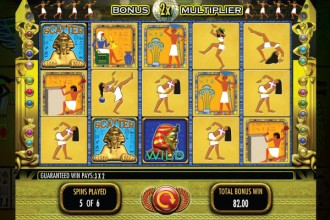 Pharaohs Fortune Slot Free Spins