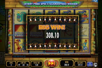 Pharaohs Fortune Slot Big Win