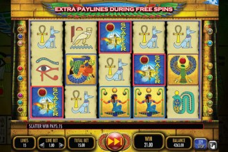 Pharaohs Fortune Slot Reels