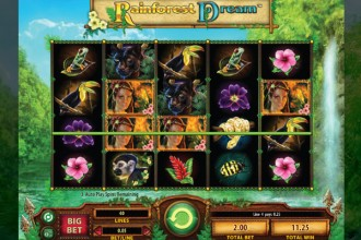 Rainforest Dream Slot Reels
