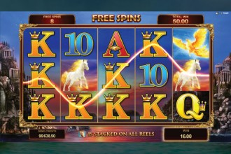 Titans Of The Sun Hyperion Slot Free Spins Win