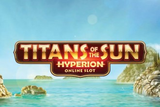 Titans Of The Sun Hyperion Slot Logo